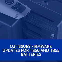 DJI issues firmware updates for TB50 and TB55 batteries