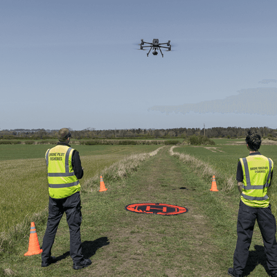IFCA Using DJI M300 RTK Drone For UK Fisheries Management