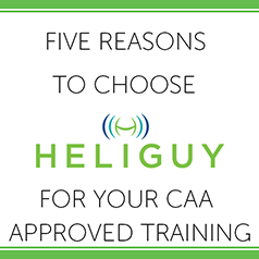 Five Reasons to Choose Heliguy for your CAA Drone Training