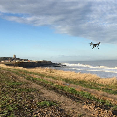 Monitoring Coastal Erosion With Drones