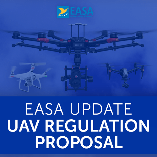 EASA Update UAV Regulation Proposal