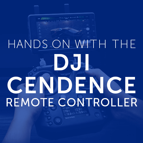 Hands on with the DJI Cendence Remote Controller