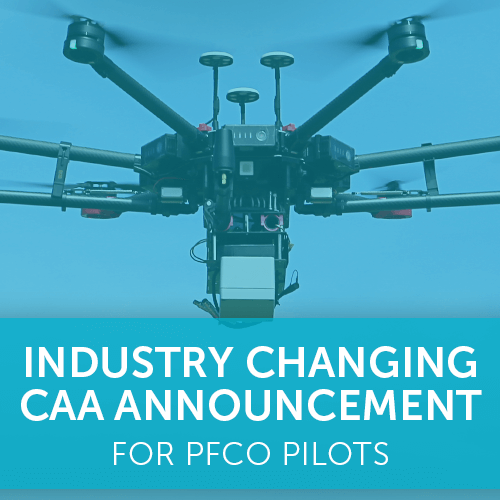Industry Changing CAA Announcement for PfCO Holders