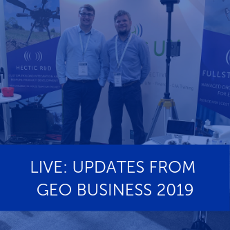 Heliguy at Geo Business 2019 - Live Updates