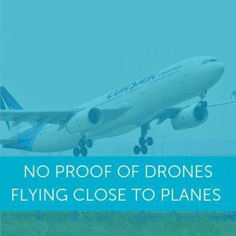 No proof of drones flying close to planes in UK - FOI report