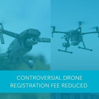 Controversial UK Drone Registration Fee Reduced