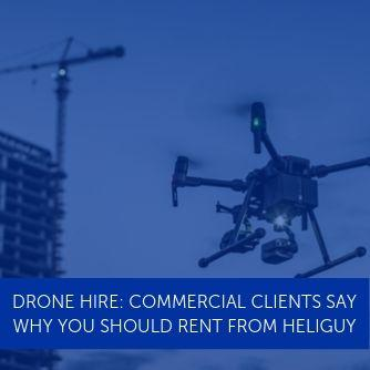 Drone Hire: Commercial Clients Say Why You Should Rent From Heliguy