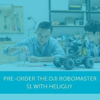 Pre-order the DJI RoboMaster S1 from Heliguy