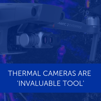 DJI Mavic 2 Enterprise Dual Drone with Thermal Camera: How thermal cameras can help you