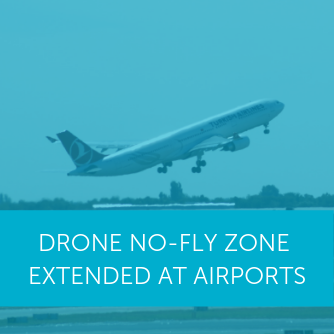 New extended drone no-fly zone in place from today