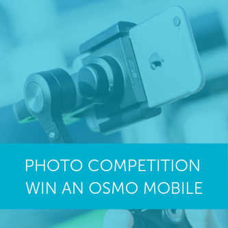 Drone photo competition: Win a DJI Osmo Mobile
