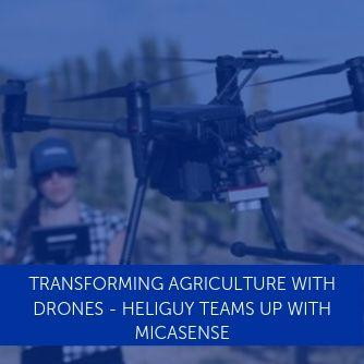 Transforming Agriculture With Drones - Heliguy Teams Up With MicaSense