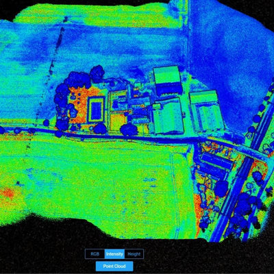 M300 RTK and L1 Case Study - Exclusive LiDAR Data Sets