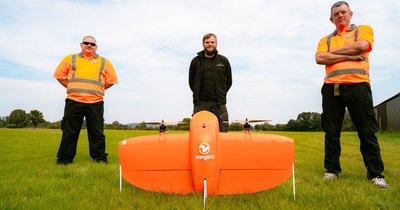 WingtraOne Fixed-wing Drone Available At Heliguy