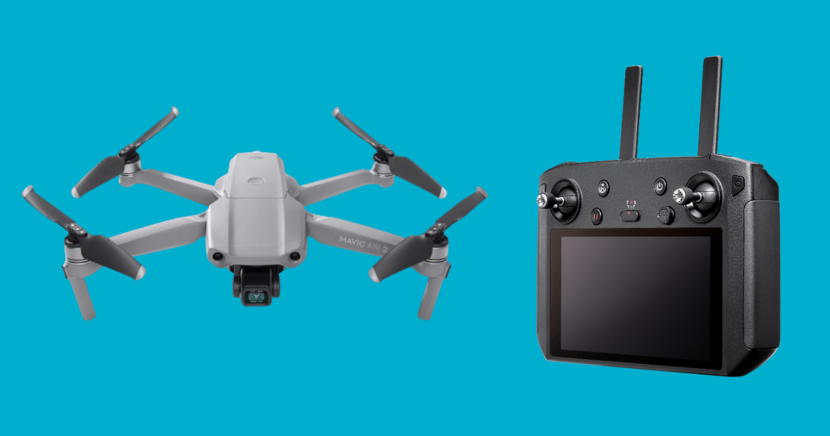 Mavic Air 2 Now Works With DJI Smart Controller