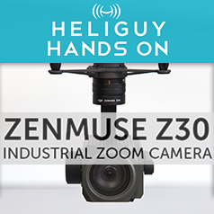 Hands on with the DJI Zenmuse Z30