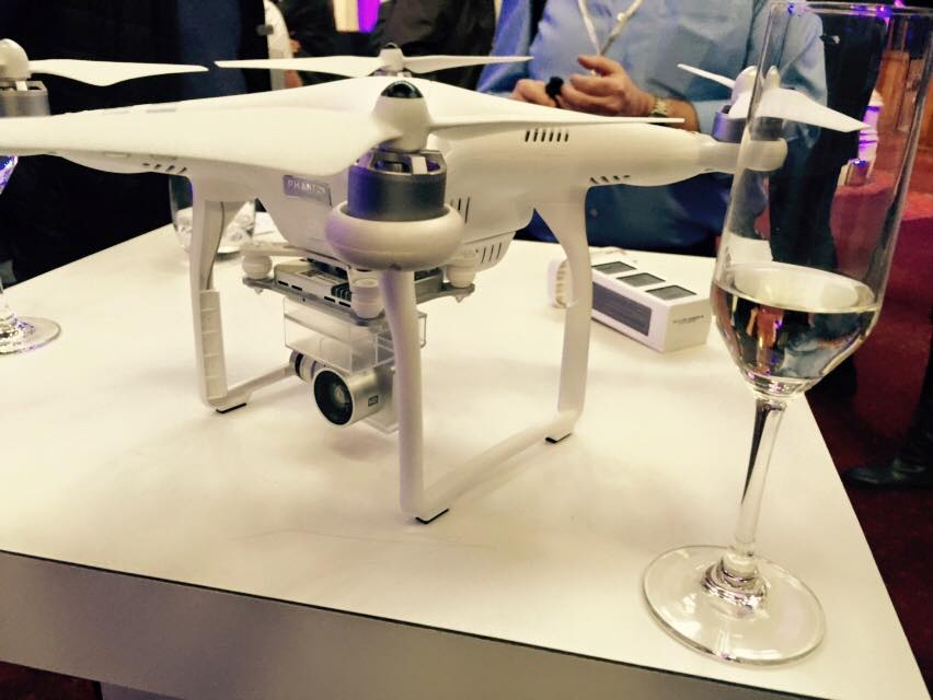 First look of the Phantom 3