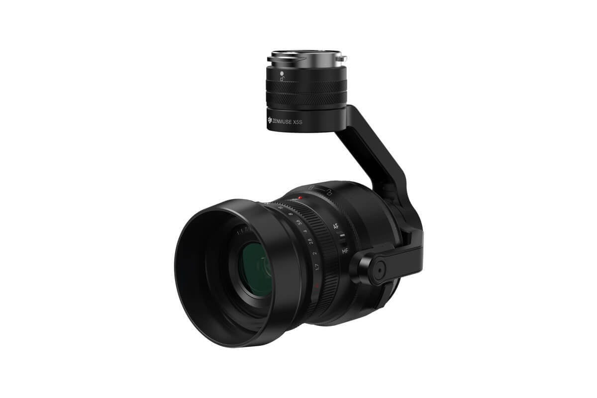 Zenmuse X5S 5.2K camera and gimbal