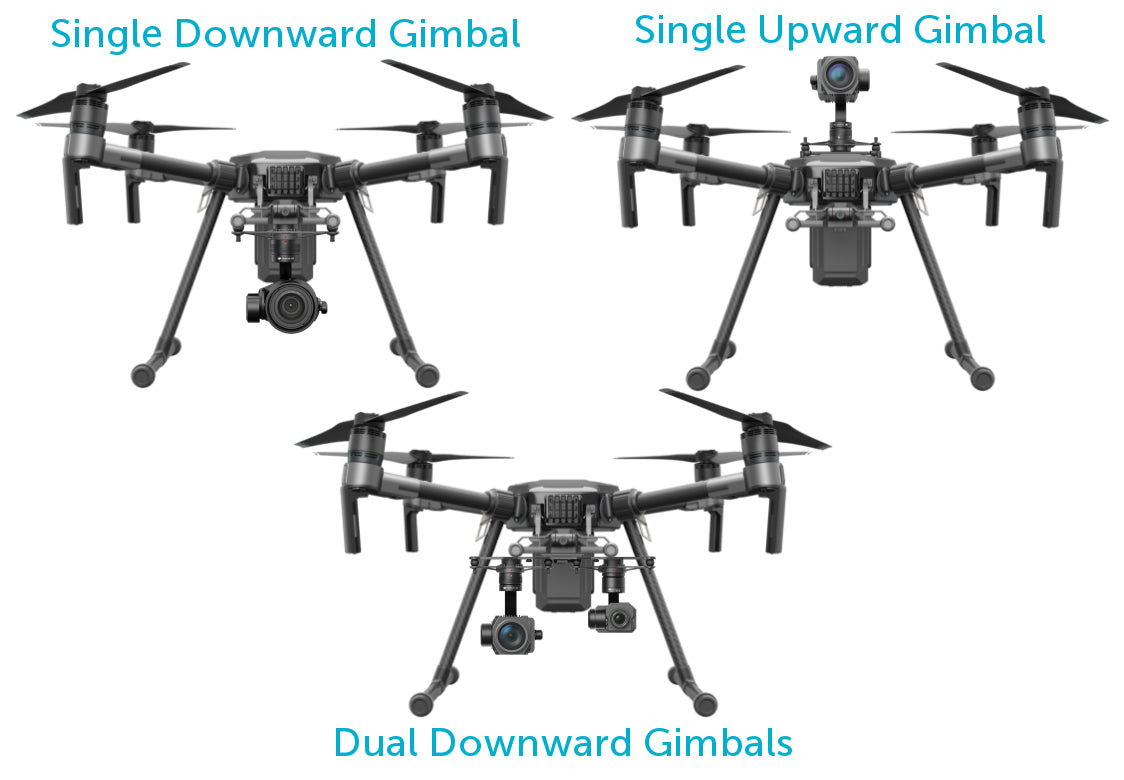 Matrice 210 Payload Configurations