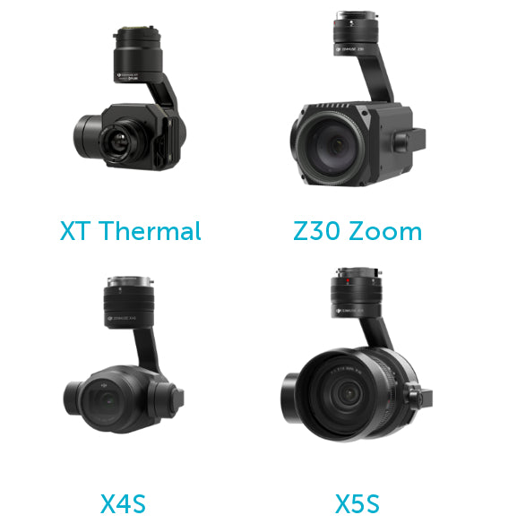 DJI Matrice 210 Supported Cameras