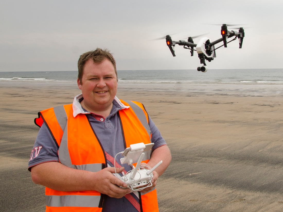 Andrew Bryson - Fastest trained UAV pilot?