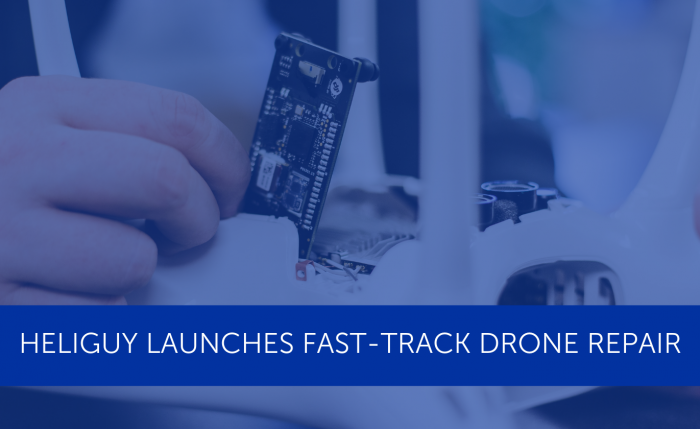 Heliguy launches fast-track drone repairs | Heliguy