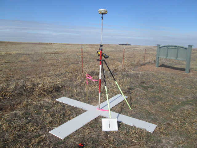 Example of a ground control point