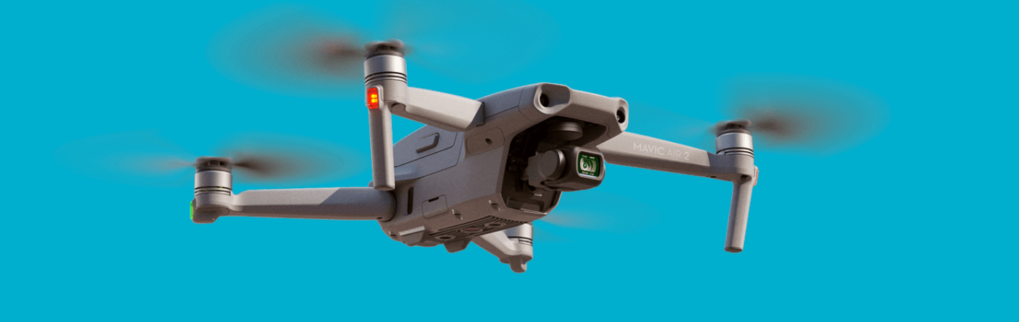 A firmware update has been released for the DJI Mavic Air 2 drone.