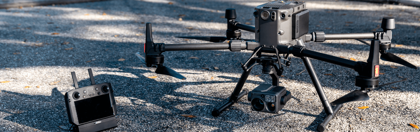 DJI is the world's leading commercial drone maker.
