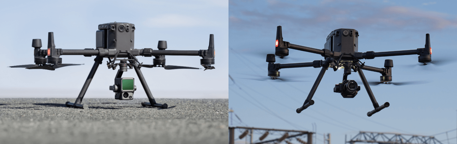 Two new payloads have been unveiled for drone surveys.