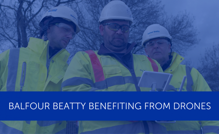 Balfour Beatty benefiting from drones on M6 Smart Motorway scheme