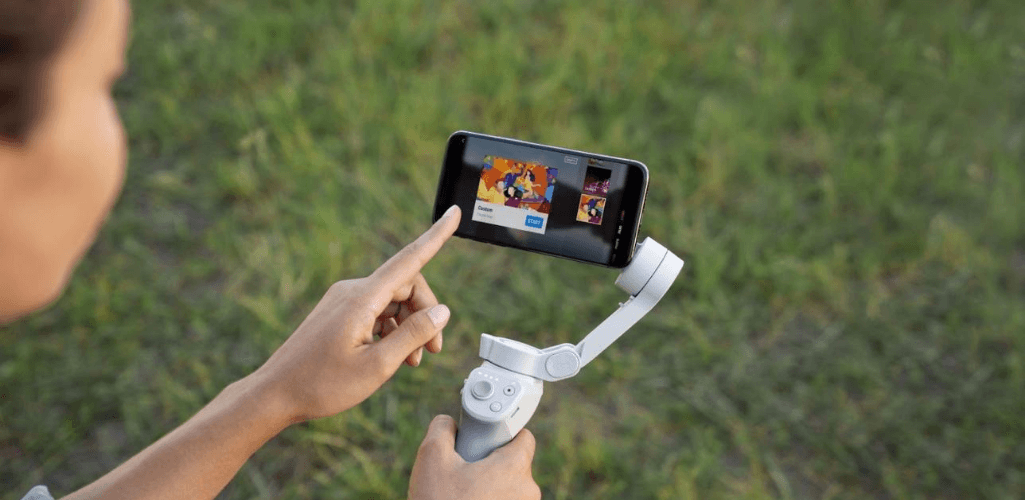 Both the OM 4 and Osmo Mobile 3 use the DJI Mimo app.