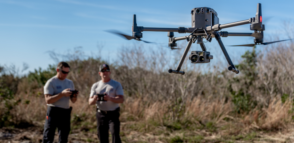 The DJI M300 RTK drone can be integrated with the H20T thermal camera.