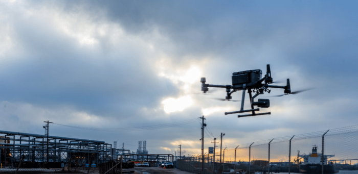 Drones help Shell save hundreds of thousands of dollars.