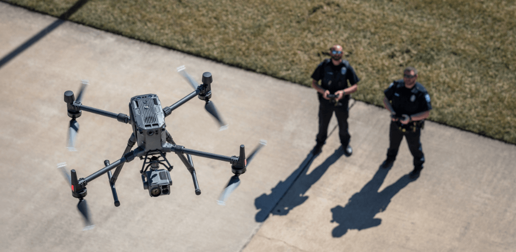 Pearland Police Department has described the M300 RTK as an outstanding platform.