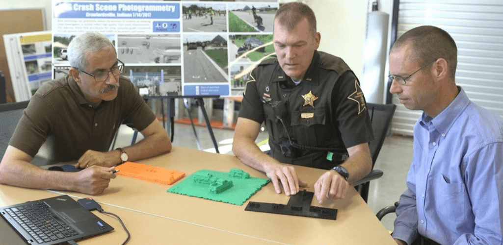 Drone data enables crash-scene investigators to have a deep understanding of events.
