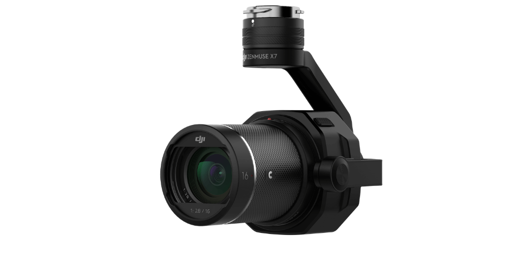 The DJI Zenmuse X7 camera.