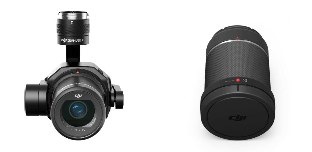 The X7 camera with 35mm lense.