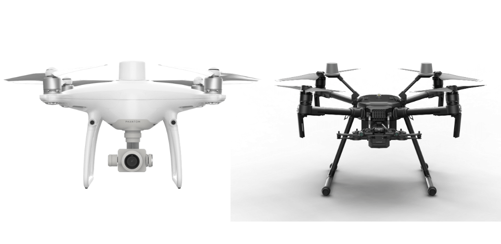 The Phantom 4 RTK and M210 RTK V2 are currently the best DJI drones for aerial mapping.