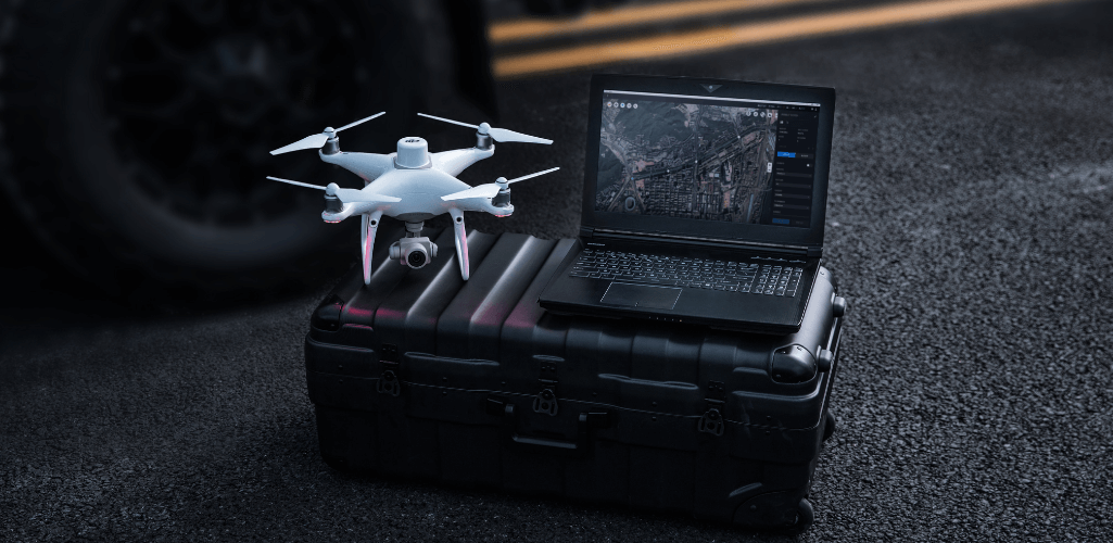 DJI Terra is a drone mapping software.