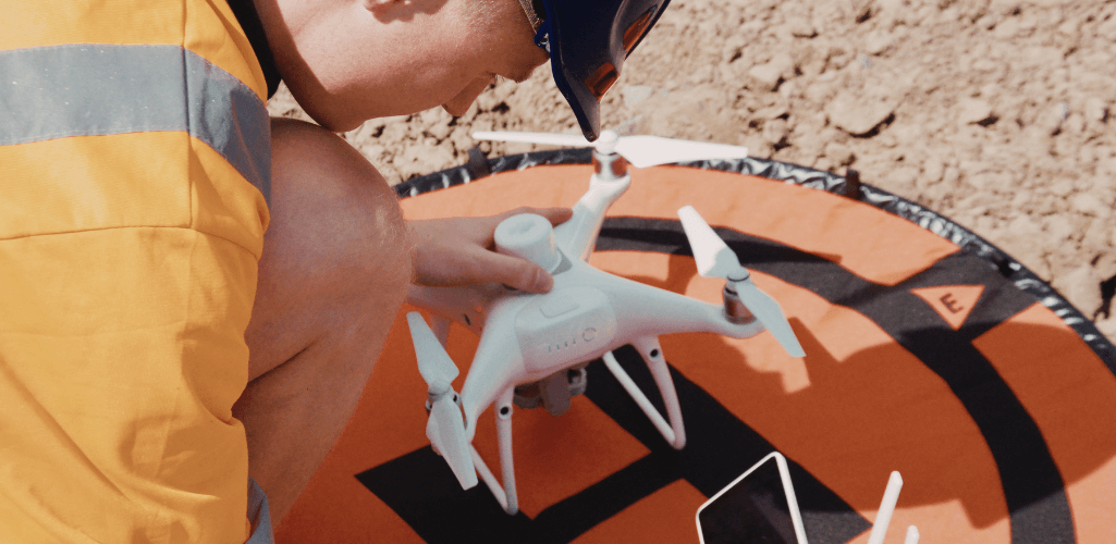 The Phantom 4 RTK is a purpose-built surveying drone.