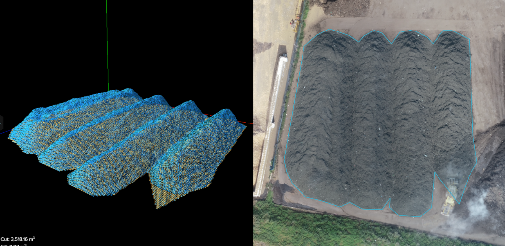 3D volumetric calculations are vital for waste management professionals.