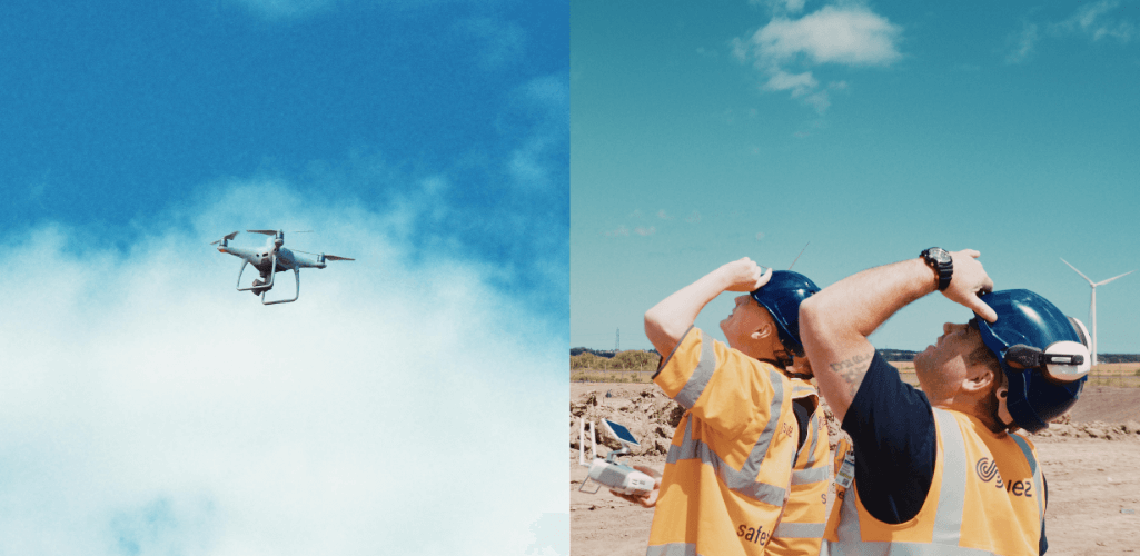 SUEZ says that drones will reduce lengthy and costly survey times.