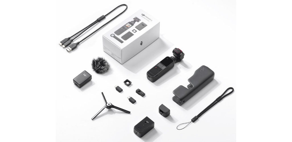 The Pocket 2 Creator Combo features a range of accessories and is priced £469 on launch.