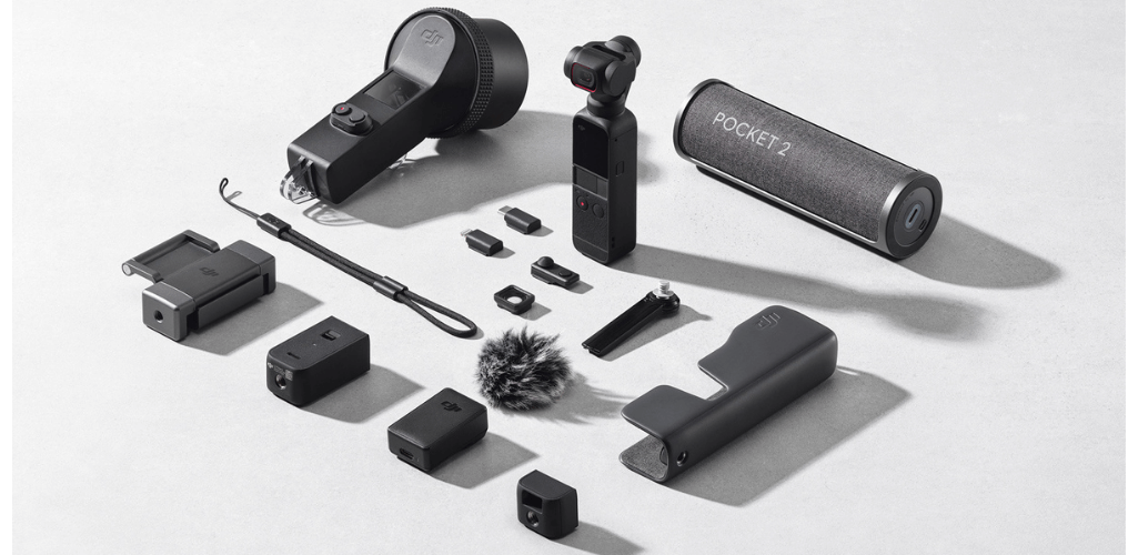 Take your content creation further with a range of accessories for the Pocket 2.