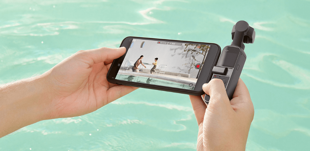 The Pocket 2 is compatible with the DJI Mimo app.