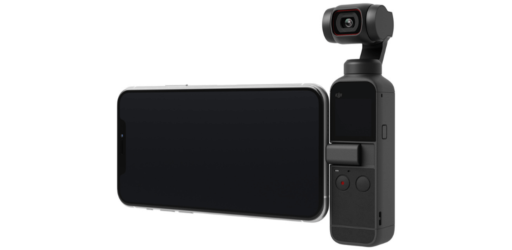The DJI Pocket 2 is an intuitive handheld gimbal.