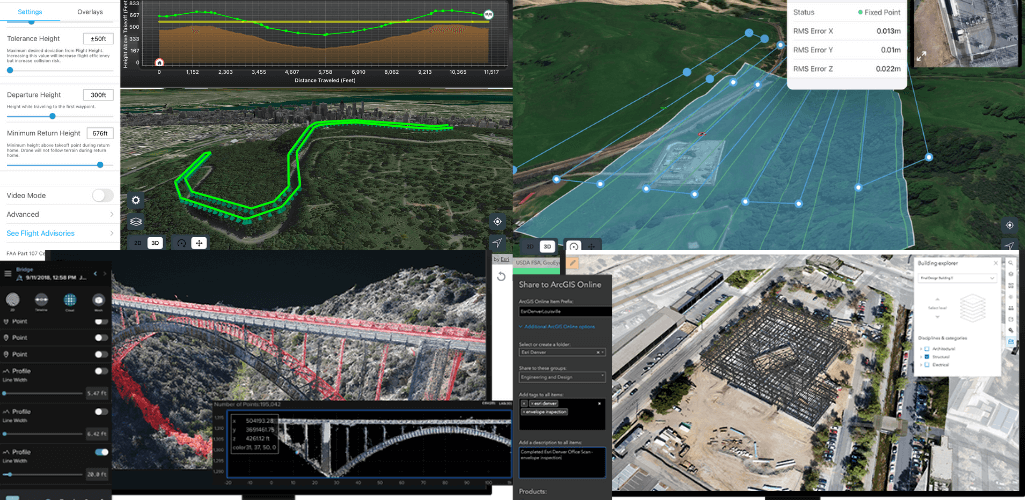 Site Scan for ArcGIS is a comprehensive drone mapping and fleet management software tool.