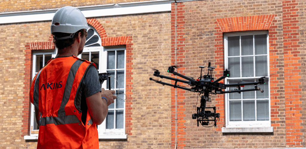Atkins, one of Heliguy's flagship clients, is using drones for its surveying workflows.
