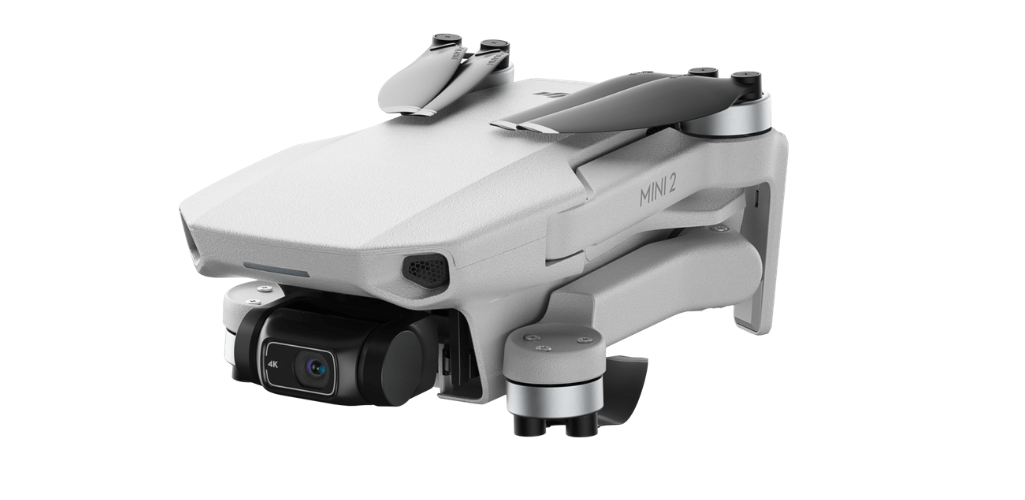 The Mini 2 is a tiny drone, and highly portable.